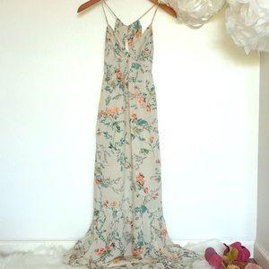 Billabong Floral Print Maxi Dress